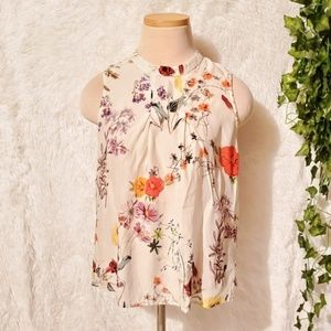 Beautiful Floral Amour Vert Blouse